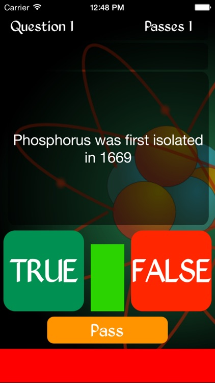 True or False - History of the Chemical Elements