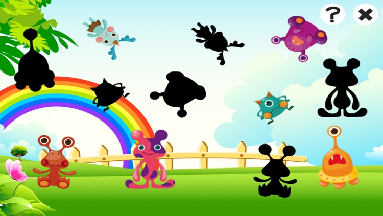 A Cute Monsters Learning Game for Children: Learn and Play for Pre-School screenshot-3