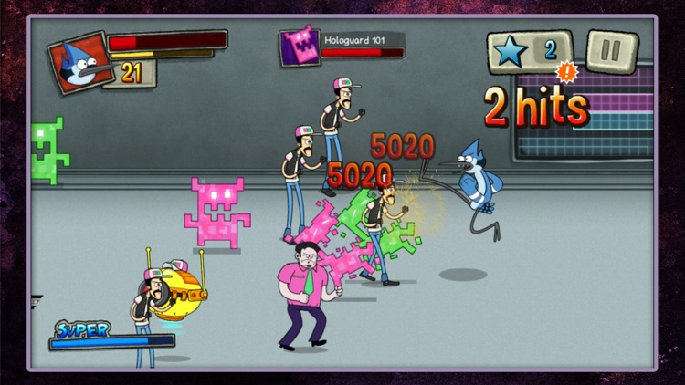 Best Park in the Universe – Beat 'Em Up With Mordecai and Rigby in a Regular Show Brawler Game screenshot-3