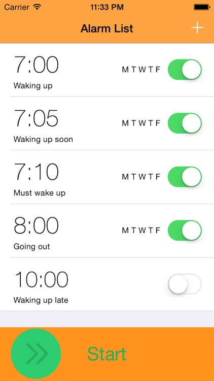 Twake Alarm - Selfie by Alarm Clock screenshot-2