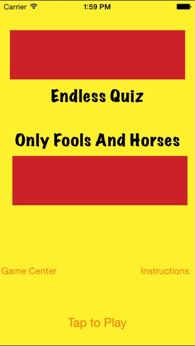 Screenshot for Endless Quiz Only Fools and Horses in United Kingdom App Store