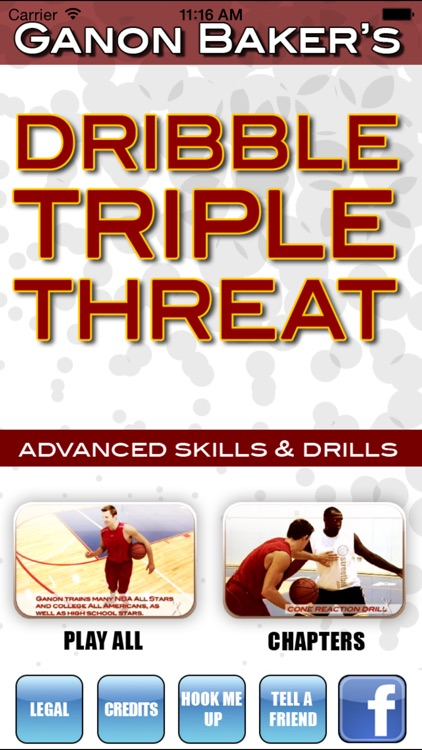 Dribble Triple Threat: Drive, Pass & Shoot - With Ganon Baker  - Full Court Basketball Training Instruction screenshot-0