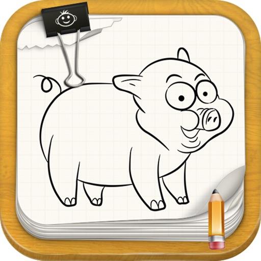 Learn To Draw Farm Animals Version