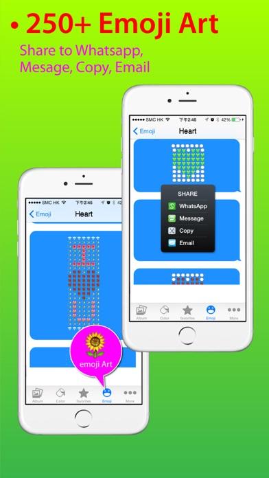 Stickers Pro for iOS8 +Emoji Keyboard & Emoji Artのおすすめ画像4