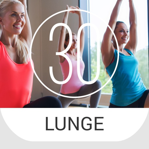 30 Day Lunge Challenge for Lower Body, Butt, and Legs
