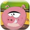Piggies坏农厂逃命 无偿地 - 科尔岛火腿赛跑者路十字架