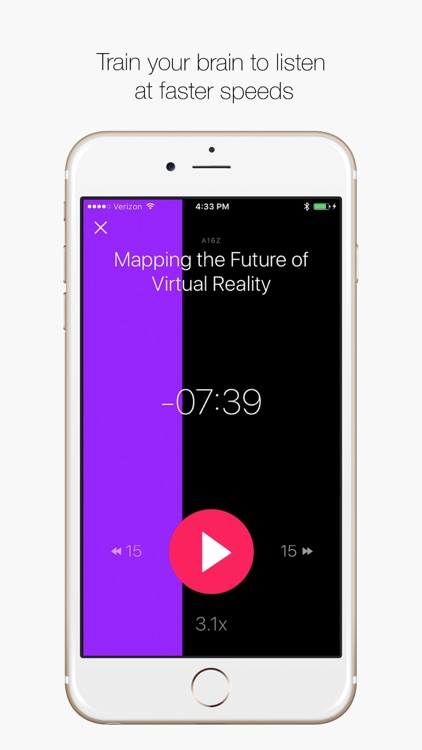 Rightspeed - The Speed Listening App
