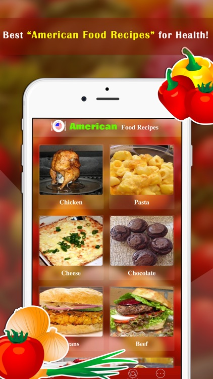 Best American Food Recipes screenshot-0