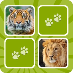 Animal Memory Matching Games for kids