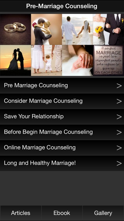 Pre Marriage Counseling - Planning Marriage, Relationships