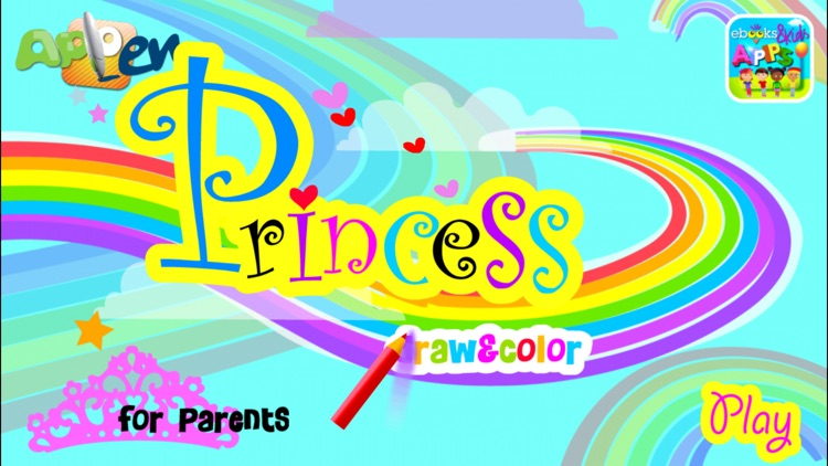 Princess Draw & Color