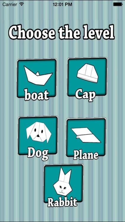 Origami Paper Toy - Origami Games screenshot-3