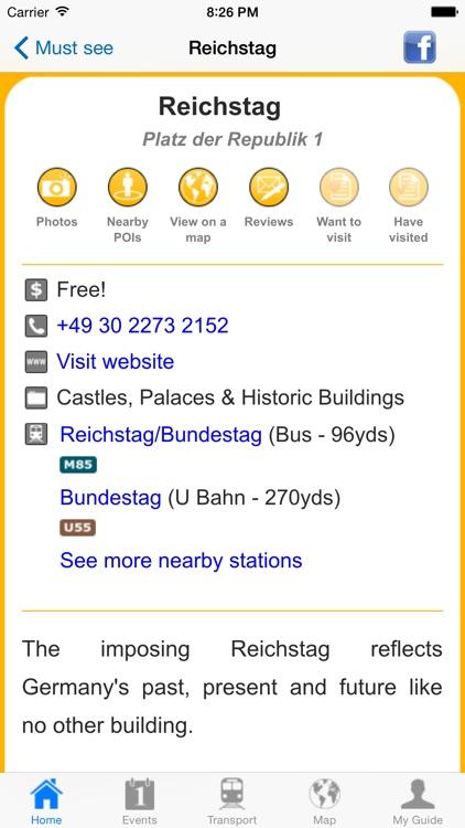 Berlin Travel Guide Offline screenshot-3