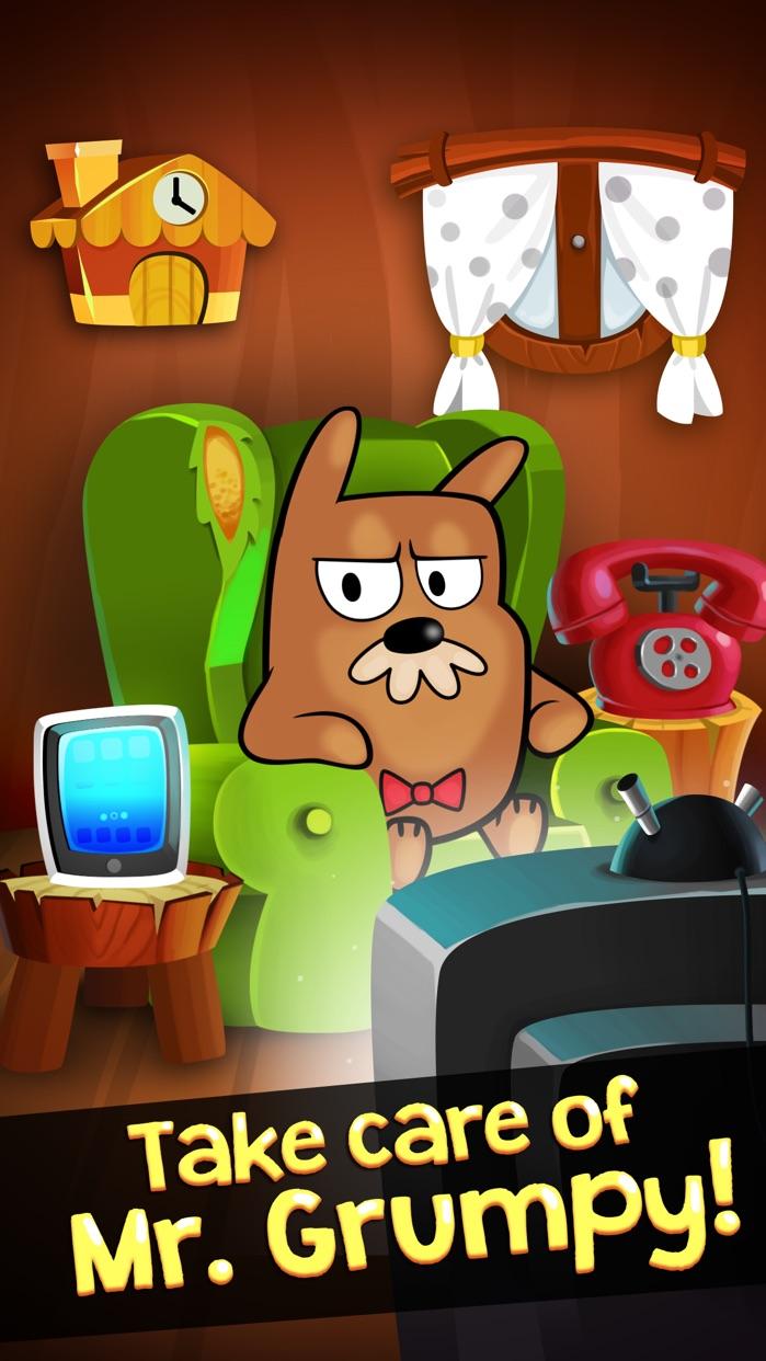 My Grumpy - The Moody Interactive Virtual Pet Screenshot