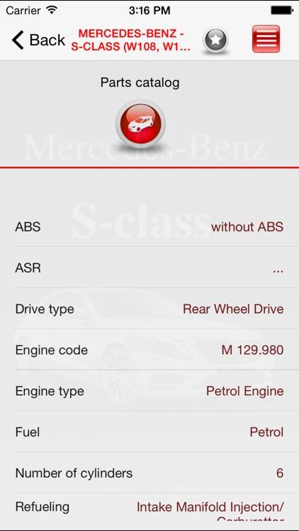 Autoparts Mercedes-Benz S-class screenshot-4