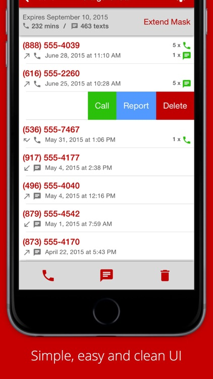 Callmask - Free Private Number for Texting and Calls screenshot-3