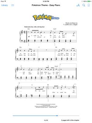 Pokemon Theme - Easy Piano