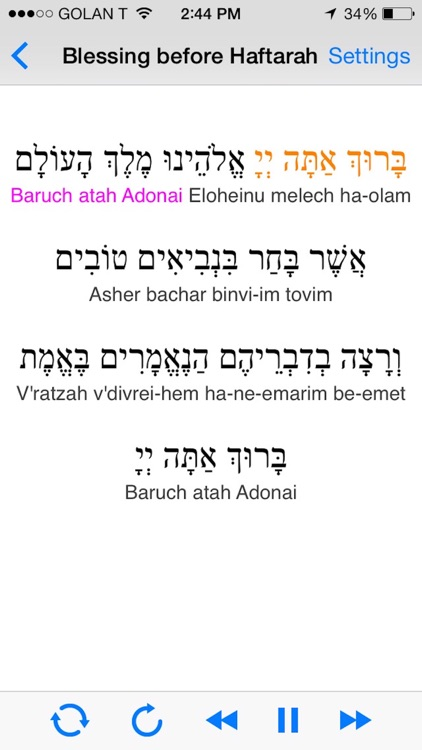 iBless Torah screenshot-2