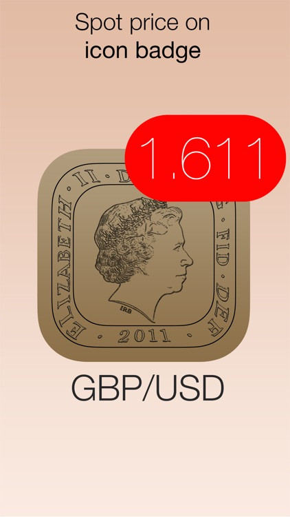 GBP/USD Forex Watch - live british pound sterling vs dollar currency exchange rate /w charts, push notifications, custom alerts and more... screenshot-3