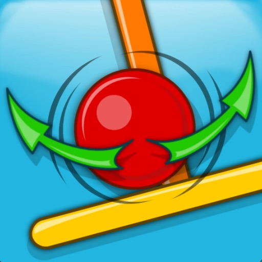 Flick & Swing vs Red Ball FREE icon