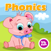 22learn, LLC - Phonics Fun on Farm Educational Learn to Read App  artwork