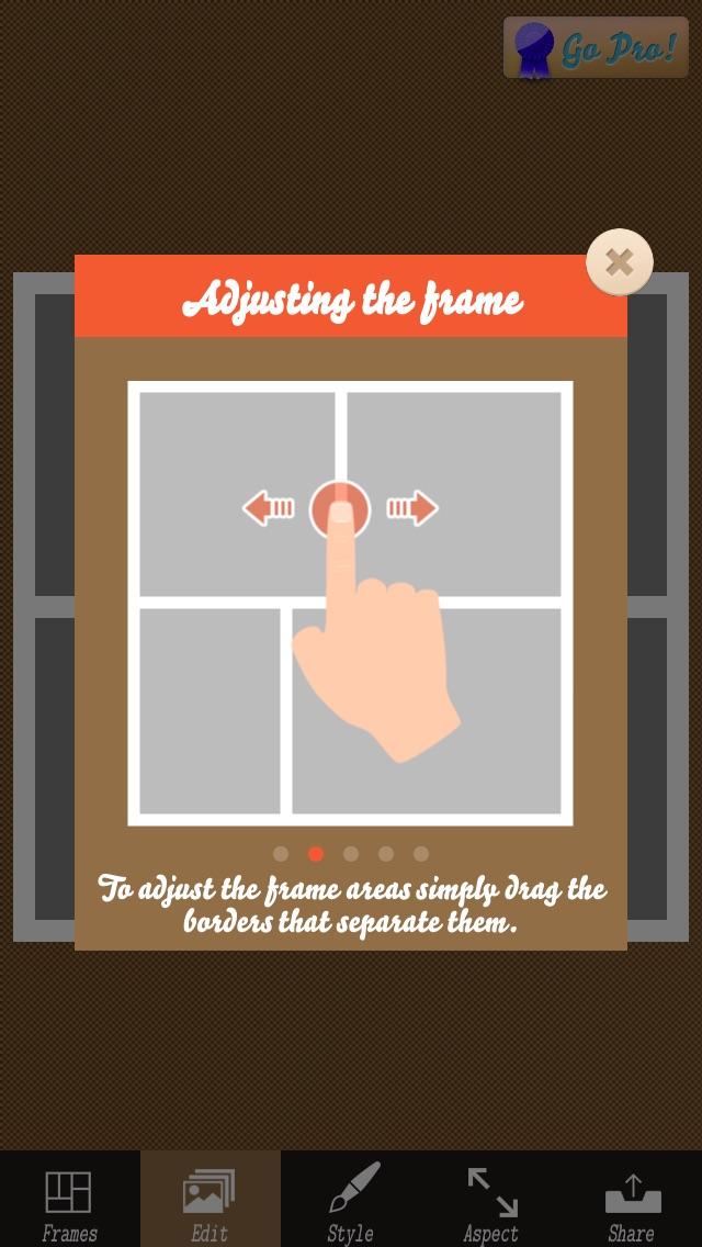 Pixage ! コラージフォトフレーム - 画像加工・写真編集・効果・フレーム紹介画像4