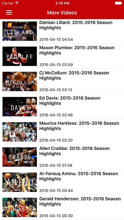 News Surge for Trail Blazers Basketball Pro screenshot-4