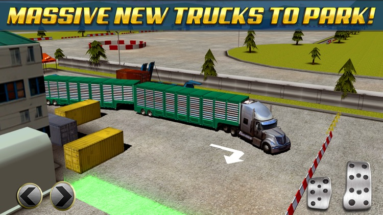 Extreme Truck Parking Simulator Game - Real Big Monster Car Driving Test Sim Racing Games screenshot-2