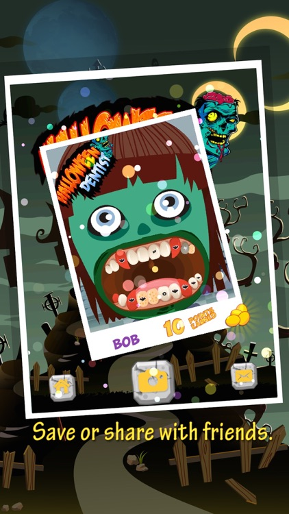 Halloween Scary Dentist screenshot-3