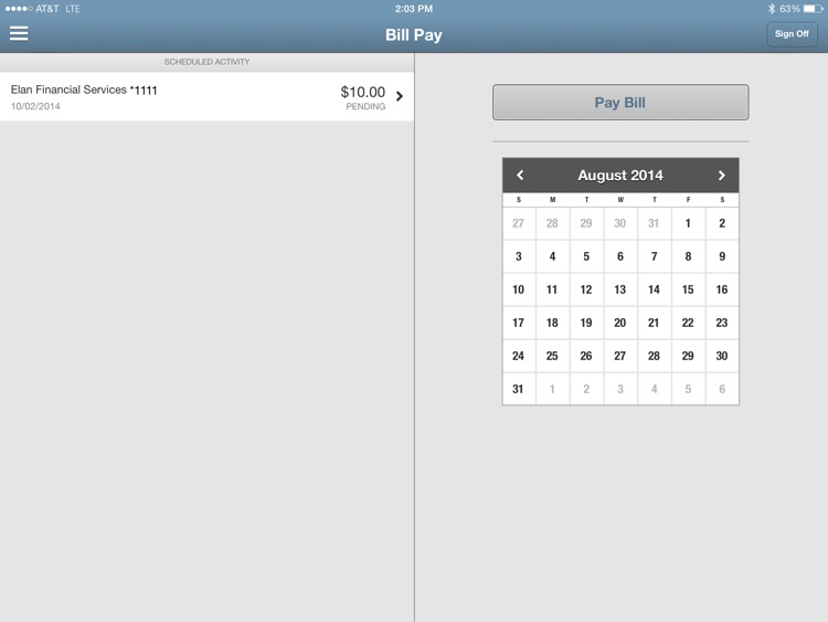 Bremer Bank Mobile for iPad screenshot-4