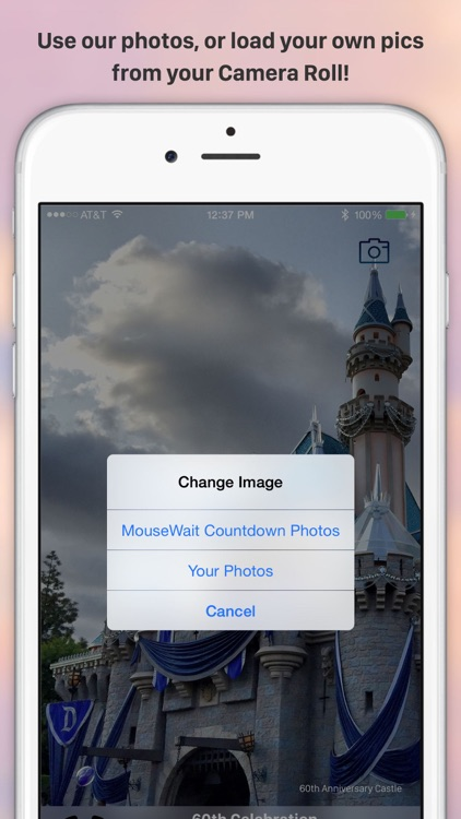 MouseWait Countdown for Disneyland and Disney World WDW