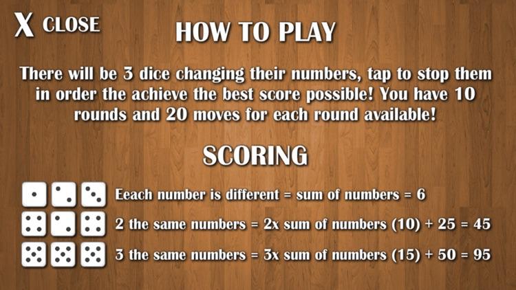 Dice Game - Free screenshot-4
