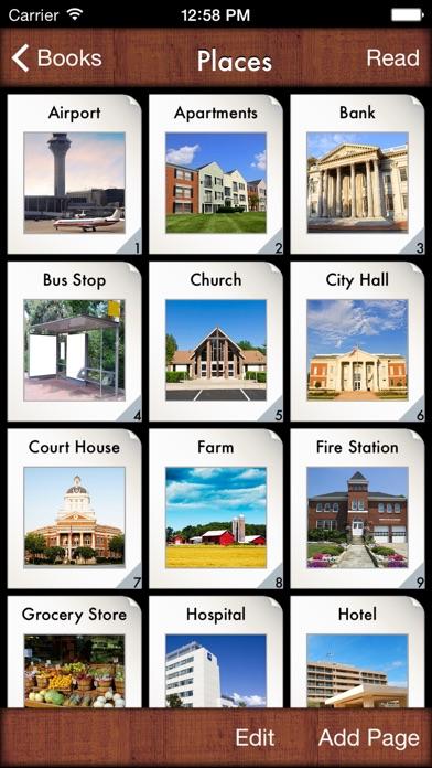 i Get... My Community Vocabulary Photo Books-2