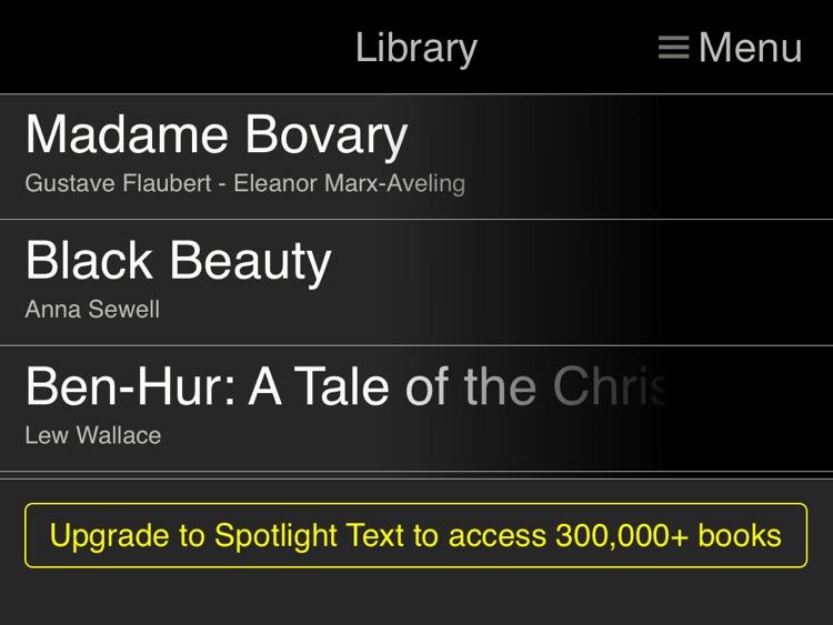Spotlight Text Lite