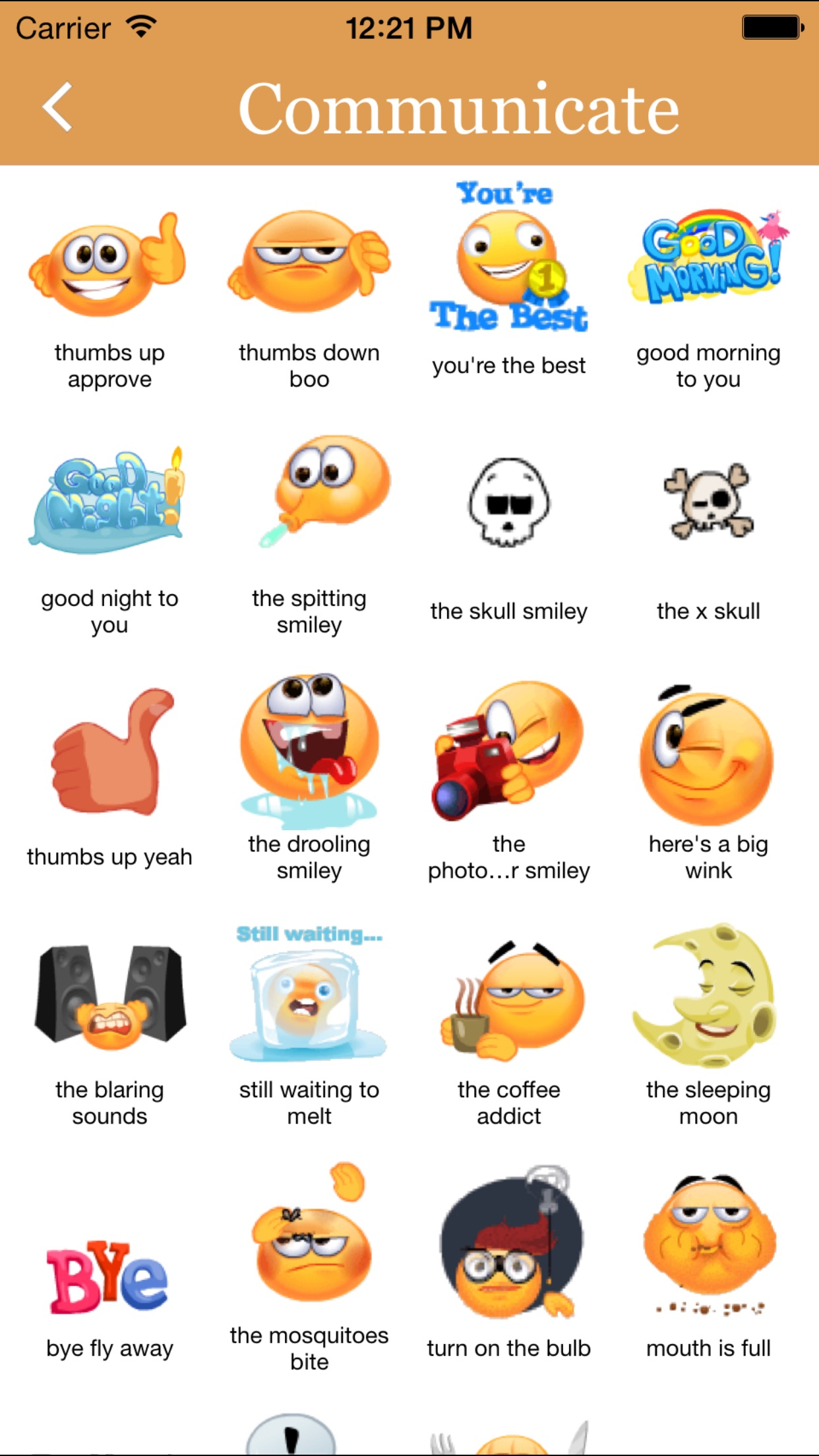 Animated 3D Emoji Stickers for Chat Apps Screenshot