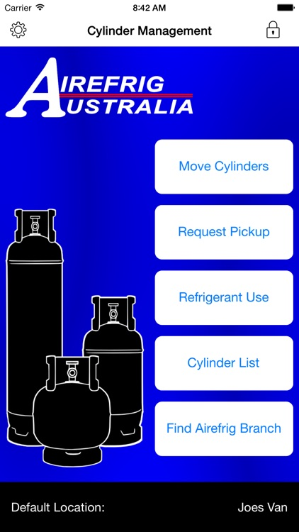 Cylinder Tracking by Airefrig Australia