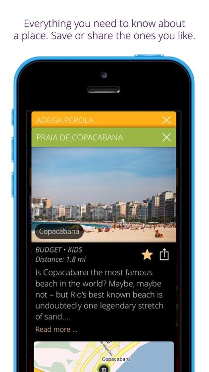 Rio de Janeiro travel guide & map - momondo places screenshot-3