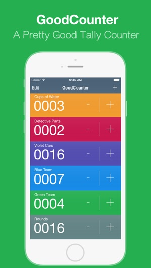 GoodCounter – A Pretty Good Tally Counter Screenshot