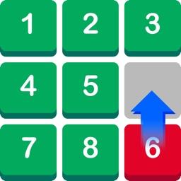 Number Puzzle: Slide to Sort