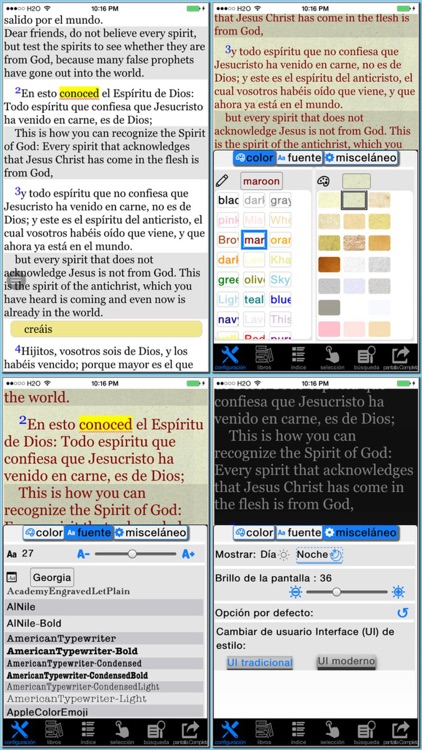 Spanish(Reina Valera)/English reference Bible