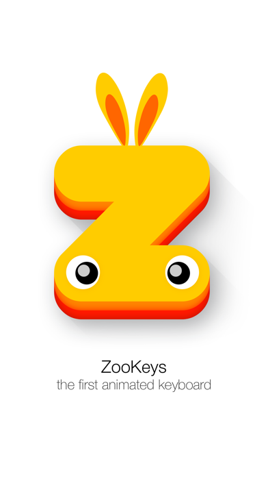 ZooKeys - First Animated Keyboard! screenshot two