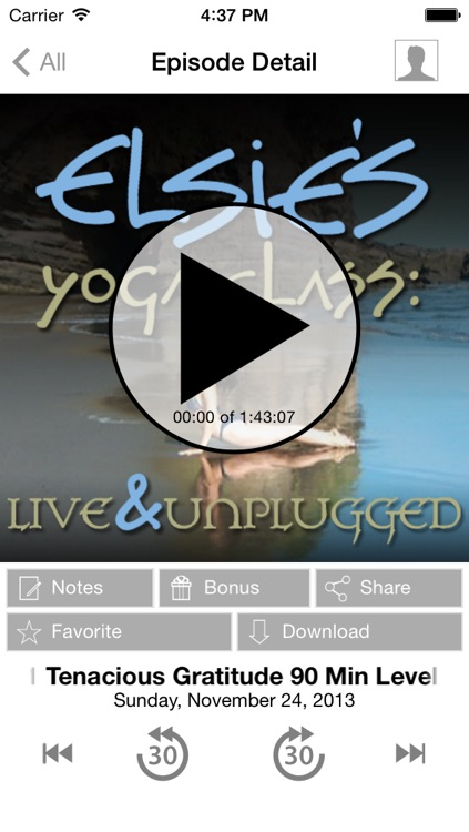Elsie's Yoga Class: Audio Classes To Go screenshot-2