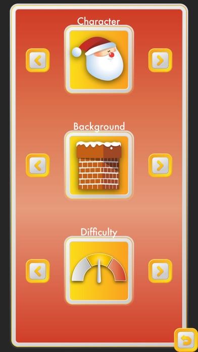 Dazzle Flappy Santa : Flying Santa Claus [Free] screenshot two