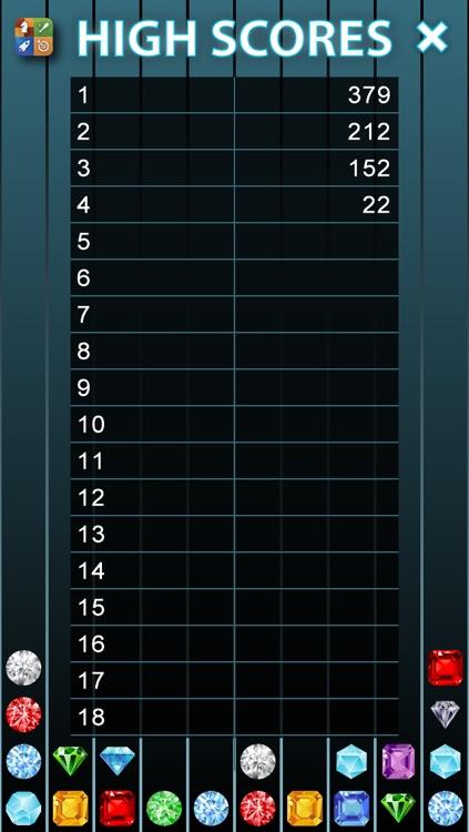 Columns: Addictive Falling Jewels Tetris like Game screenshot-4