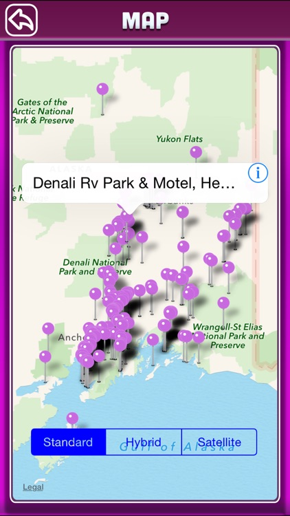 Alaska Campgrounds & RV Parks Ofline Guide screenshot-3