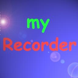 myRecorder - Record Audio