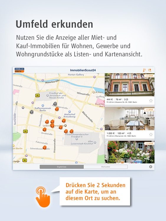 Immobilien Scout24 for iPad