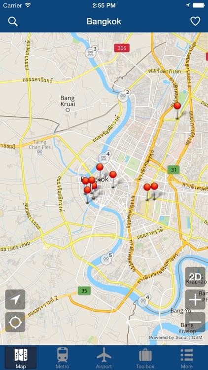 Bangkok Offline Map - City Metro Airport