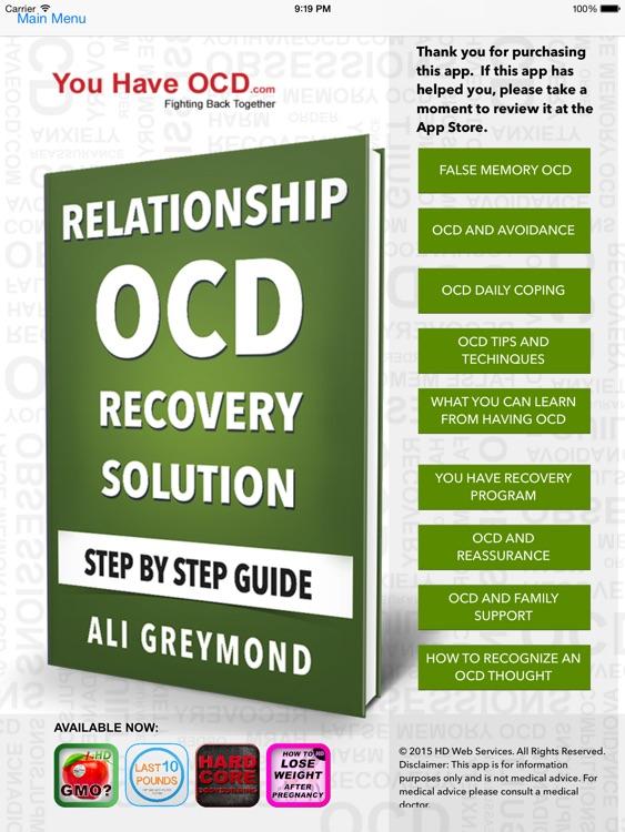 Relationship OCD Recovery HD screenshot-4