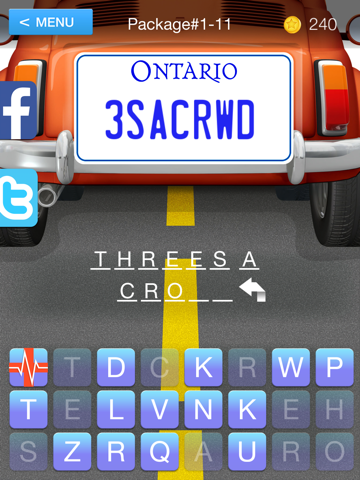 Guess the Plate - The Vanity License Plate Game   App Price